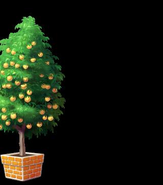 DORAKENオレンジの植木鉢(LV10)