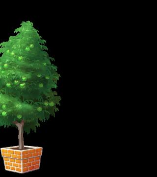 DORAKENオレンジの植木鉢(LV9)