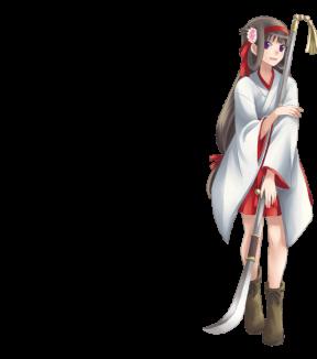 DORAKEN192薙刀少女【味方時】