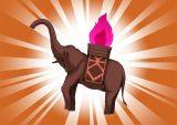 DORAKENコレクトアイテム(199赤象のキャンドル)