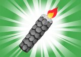 DORAKENコレクトアイテム(192鱗石のキャンドル)
