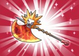 DORAKENプレミアム装備(008赤獅子の斧)